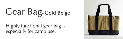 Gear Bag - Gold Beige